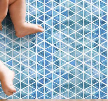 Traga o mar para dentro de sua casa com este incrível tapete de sala de estar. Não hesite e compre o seu novo tapete de vinil marroquino incrível agora!