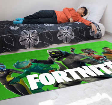 Are you a fan of Fortnite? Then this is the bedroom rug you are looking for! Don't wait any longer and buy this amazing design now!