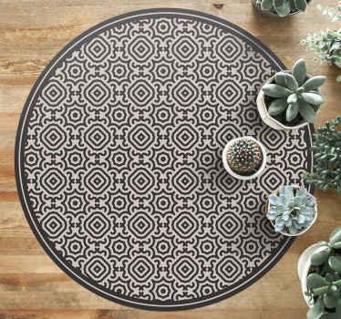 ¿Quieres decorar tu habitación con algo nuevo? ¿Por qué no probar esta increíble alfombra vinilo redonda étnica? ¡Envío exprés!