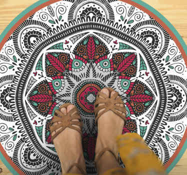 An awesome mandala vinyl rug design that will truly give your house so much more energy! Order this product from our webshop today!