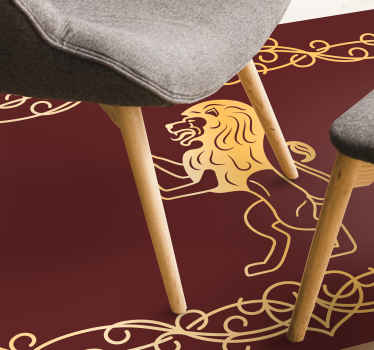have this perfect and classical Persian Lion design animal print carpet anti-slip, and easy to clean. Buy now! Home Delivery!