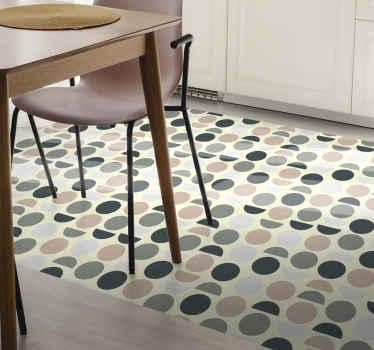 Uitstekende Nordische vinyl loper, zeer klassiek en elegant! Ideaal voor in uw keuken, eetkamer of woonkamer. Bestel hem vandaag!