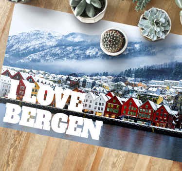 Do you love Bergen? Or just searching for a great design? Then this is the amazing stylish design you were looking for! Order now!