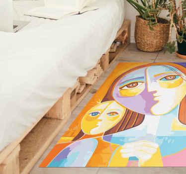 Une très belle conception de tapis  moderne qui donnera vraiment beaucoup plus d'énergie à votre maison! Faites de ce superbe design le vôtre!