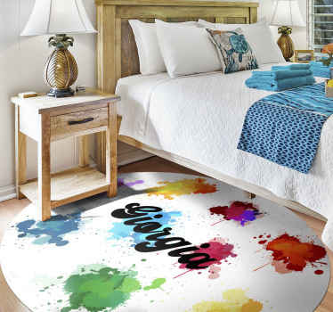 This very beautiful looking splash colors vinyl rug product will last a very long time in your home! Have this amazing product at home soon!