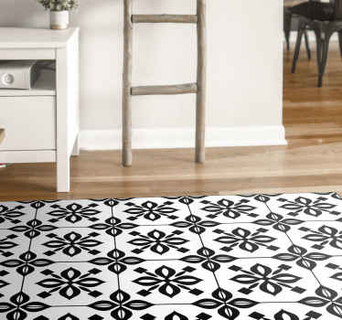 Decorate your house with this amazing rectangular jute rug black and white mandala! Don't wait any longer and order now!