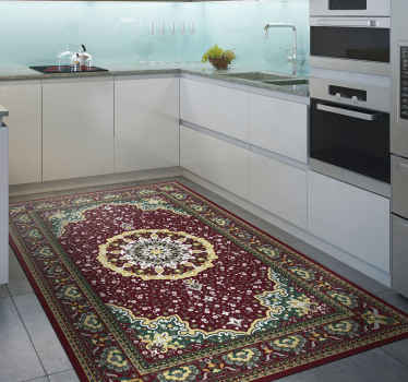 A very lovely kitchen vinyl rug design that will truly give your house so much more energy! Order this beautiful product from our webshop today!