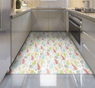 All of your friends and family will be so jealous of your brand new piece of decor with this cute kitchen vinyl rug product! Order this now!