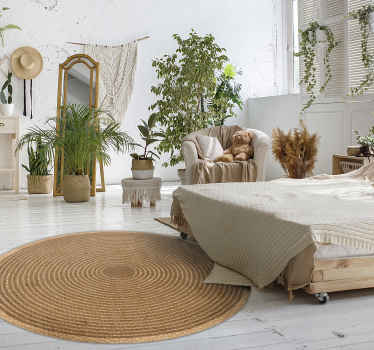 Do you like cotton Rugs? Would you like to have  a Woven round cotton texture nordic carpet for impressing your colleagues? Zero residue upon removal.