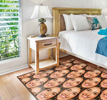 You can personalized your own image on our floor vinyl carpet for your home or office space decoration. Made of quality vinyl and durable.