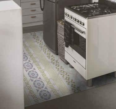 Vous recherchez un tapis en sticker pour sol de cuisine sans bactéries, et qui ne glissera pas ? Nous vous avons nos tapis carrelage de cuisine.