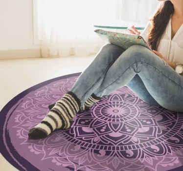 Bringen Sie kunstdekor in Ihr Zuhause mit diesem fantastischen mandala-vinyl-teppich für ihr schlafzimmer! Jetzt bestellen!