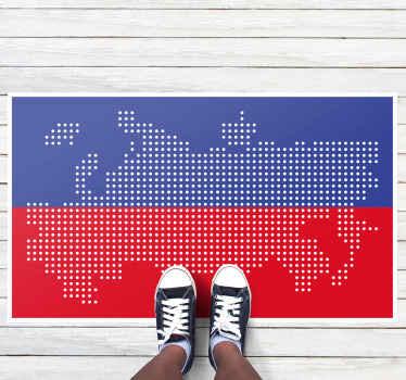 невероятный виниловый коврик с картой россии, который будет отлично смотреться в любой комнате вашего дома! скидки доступны при регистрации на нашем сайте.