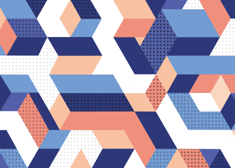 Tenstickers. Modern geometrisk vinylmatta 3d. Otrolig geometrisk vinylmatta med rektangulär form för att dekorera ditt hem eller företag på ett annorlunda och originellt sätt!