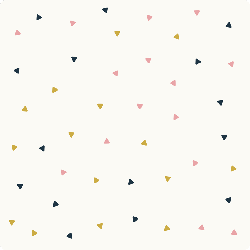 TenVinilo. Alfombra pvc minimalista triangulos. Bonita alfombra vinílica minimalista de triángulos pequeños con la que aportarás una decoración única a tu casa. Producto de calidad y lavable