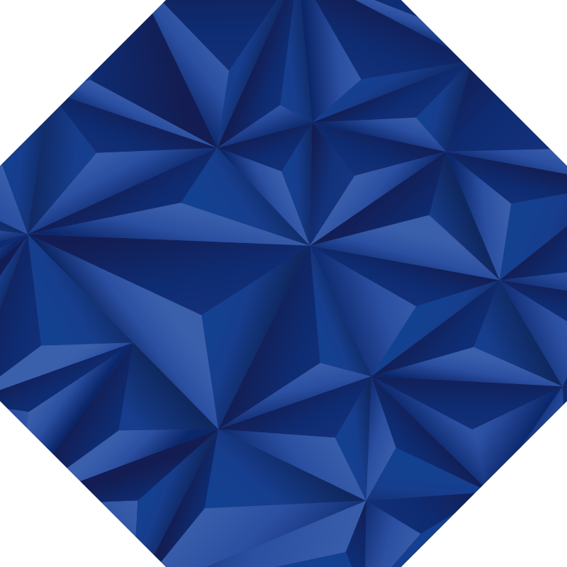 TenStickers. octagonal blue modern vinyl carpet. Try this amazing octagonal blue modern vinyl rug with triangles and you will soon realize how much the aspect of your house can be improved!