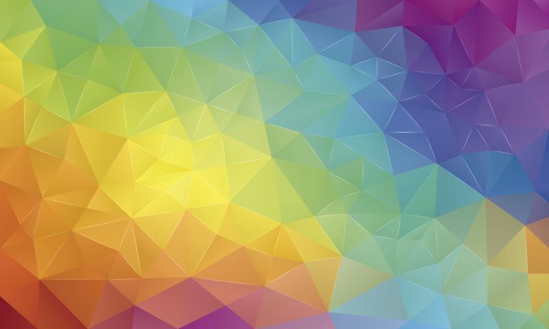 TenVinilo. Alfombra pvc mosaico degradado de colores. Increíble alfombra vinílica de mosaico a todo color para que des color y vida a tu casa por un módico precio. Producto lavable y de calidad