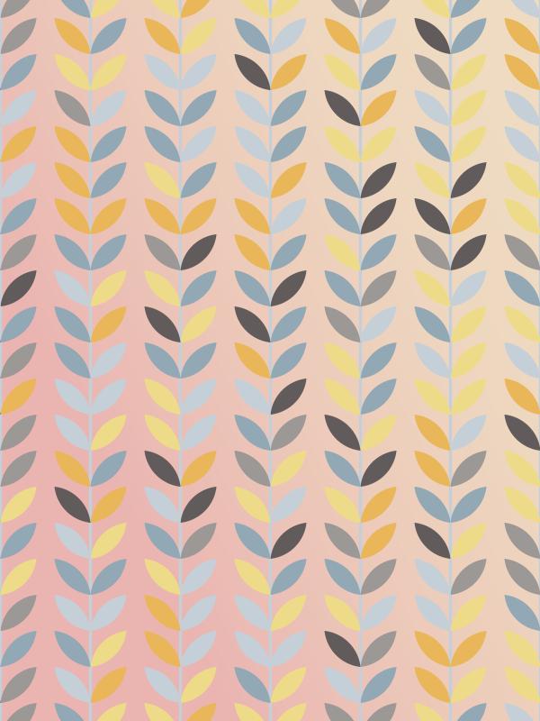 TenStickers. 花北欧风格北欧乙烯基地毯. 看看这朵美妙的北欧风格的乙烯基地毯!这个物体的美丽将以一种极好的方式传播到您的整个房屋中!