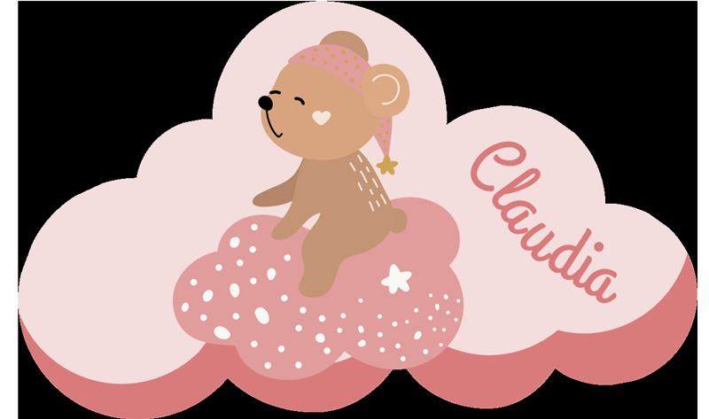 Tenstickers. Yksilöity nimellä pohjoismainen vinyylimatto. Ihaile, kuinka söpö tämä henkilökohtainen vaaleanpunainen vinyylimatto on lapsille! Se on täydellinen valinta sisustamaan poikasi makuuhuonetta fantastisella tavalla!