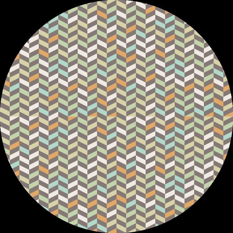 TenVinilo. Alfombra pvc pequeños rombos color pastel. Magnífica alfombra vinílica nórdica con rombos en tonos pastel con la que podrás disfrutar de una decoración exclusiva y que todos van a envidiar.