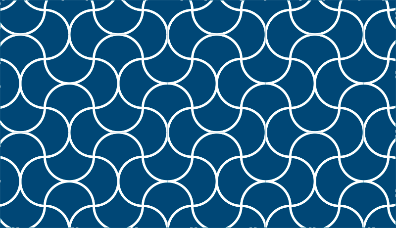 TenStickers. Wavy shapes minimal vinyl carpet. Fan of minimalist decorations? So this blue vinyl rug was made with you in mind. Surprise everyone who visits you with your good taste!