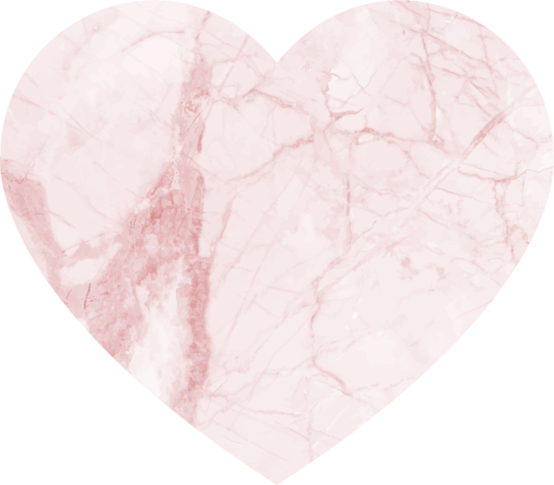TenStickers. heart marble texture rug. Wonderful love themed vinyl rug with marble texture that will look outstanding in your home. Extremely long-lasting material.
