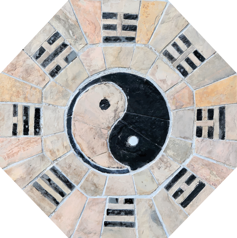 TenStickers. marble ying and yang texture rug. A marble ying and yang texture carpet to help you and your family reach inner peace! Discounts available when you sign up today.