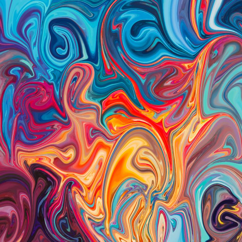 TenStickers. Tapete de textura quadrada original. Este tapete de vinil colorido irá fornecer todo o caráter e exclusividade que sua casa precisa. Escolha o tamanho perfeito para você.