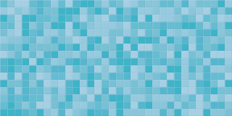 TenStickers. Covor mozaic stil mozaic vinil. Covor dreptunghiular albastru mozaic stil mozaic vinil pentru a vă îmbunătăți spațiul acasă într-un mod minunat. Este potrivit pentru camera de zi, dormitor și alte spații.
