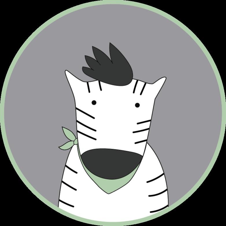 TenStickers. Covor de vinil zebra pentru copii mat animal. Covorul perfect din vinil pentru animale care va arăta uimitor în camerele copiilor tăi. Reduceri disponibile când vă înscrieți astăzi online.