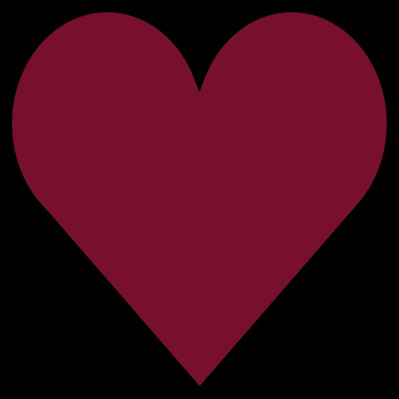 Tenstickers. Hjärtformad röd matta. En röd hjärtformad vinylmatta för alla de hjärtälskare att lägga till i din husdekoration och ge den en romantisk look med denna produkt.
