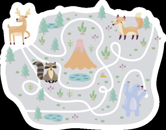 TenStickers. tapis vinyl ruelle Ville fanée. Un tapis en sticker pour la route de la ville, parfait pour votre maison et idéal pour divertir vos enfants! Cet autocollant est celui pour vous et votre famille.