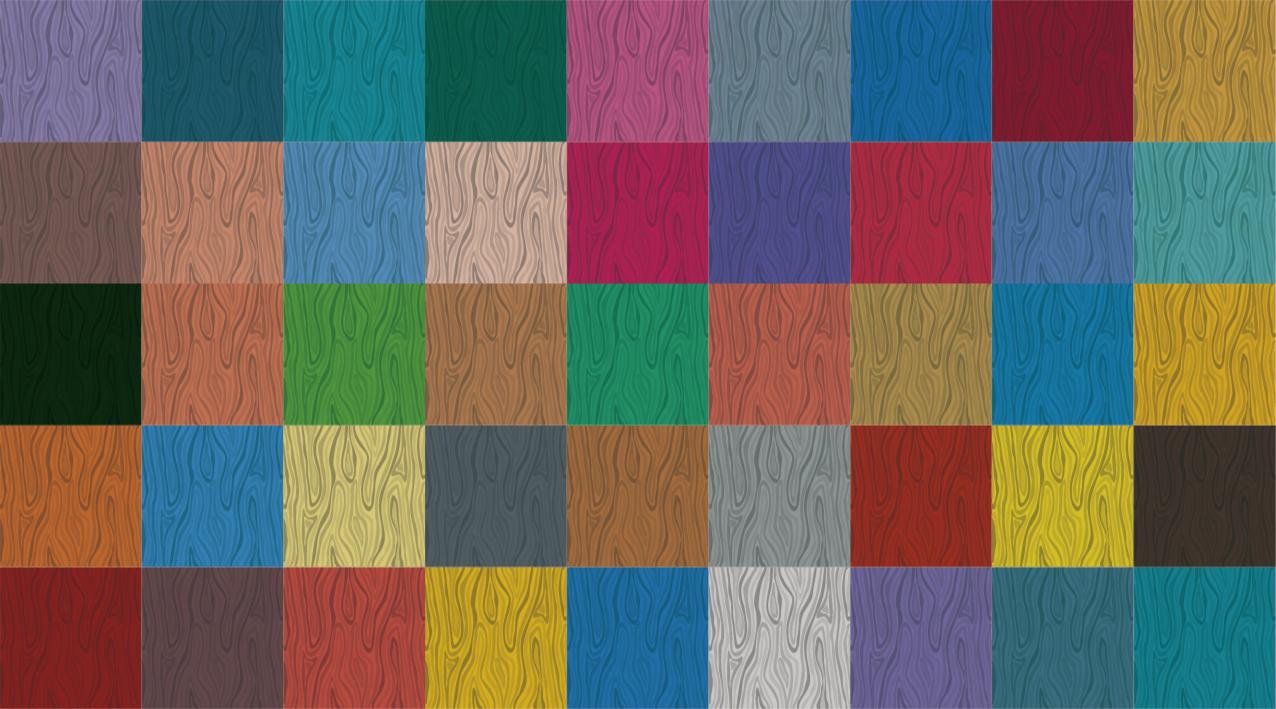 TenStickers. Tappeto in pvc per camera da letto Tappeto in vinile blocchi . Questo tappeto in vinile con blocchi colorati sembra fantastico a portata di mano! Questo tappeto dà la schermata di blocco dei riflessi colorati.
