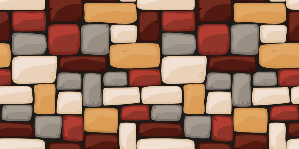 TenStickers. Tapete de vinil para escadas piso de pedra de mármore. Este rio de pedras com tapete de textura animal é adequado para o espaço de entrada e sala de estar. Embora possa ser colocado em outro espaço de escolha