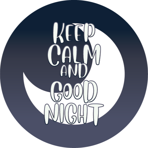 TenStickers. Keep calm and sleep bespoke rugs. A perfect keep calm and goodnight vinyl rug to decorate any bedroom of your house. It is made of high quality and it is very resistant.