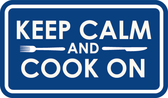TenStickers. Keep calm cooking bespoke rugs. A fun keep calm and cook on vinyl rug to decorate your kitchen floor. It is very simple and has an amazing look. Worldwide delivery!