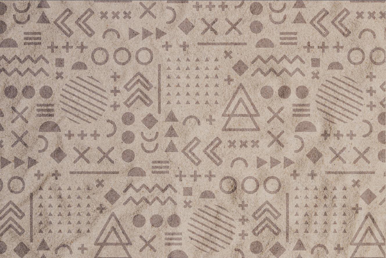 TenStickers. tapis vinyle ultra moderne Texture de sable. Voyez à quel point ce superbe tapis stratifié de salle de bain peut apporter à votre salle de bain quelque chose de spécial. Il est antidérapant et durable.