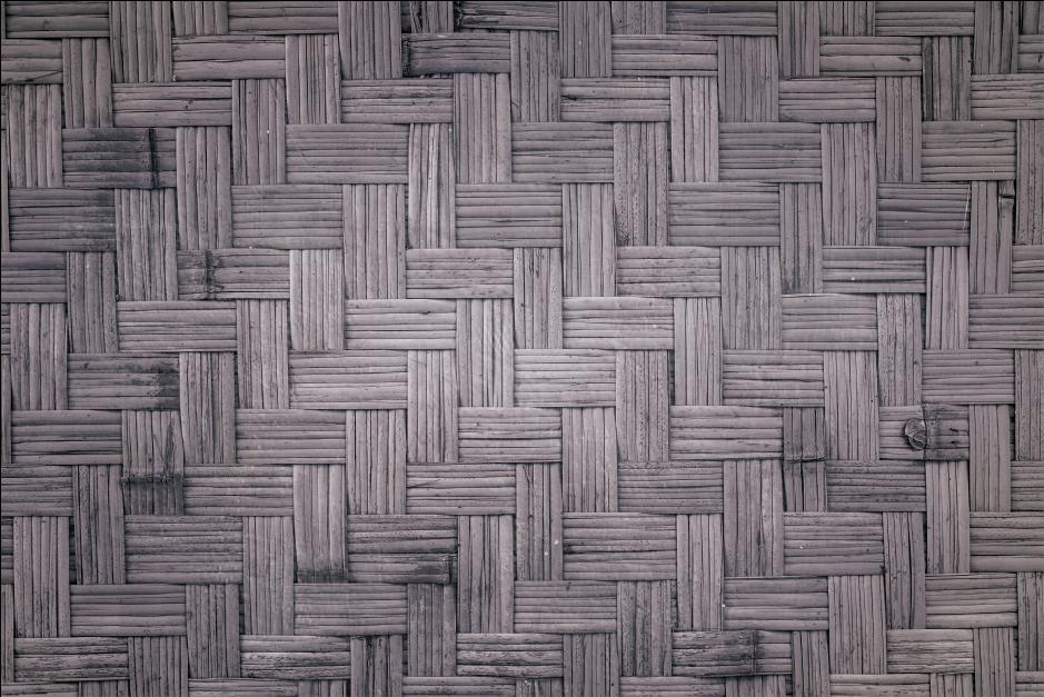 TenStickers. Vinyl tapijt donker bamboe textuur hout effect vinyl vloeren. Deze houten vinyl vloerbedekking is voorzien van een donkere bamboetextuur. Het is antislip en extreem duurzaam en resistent.