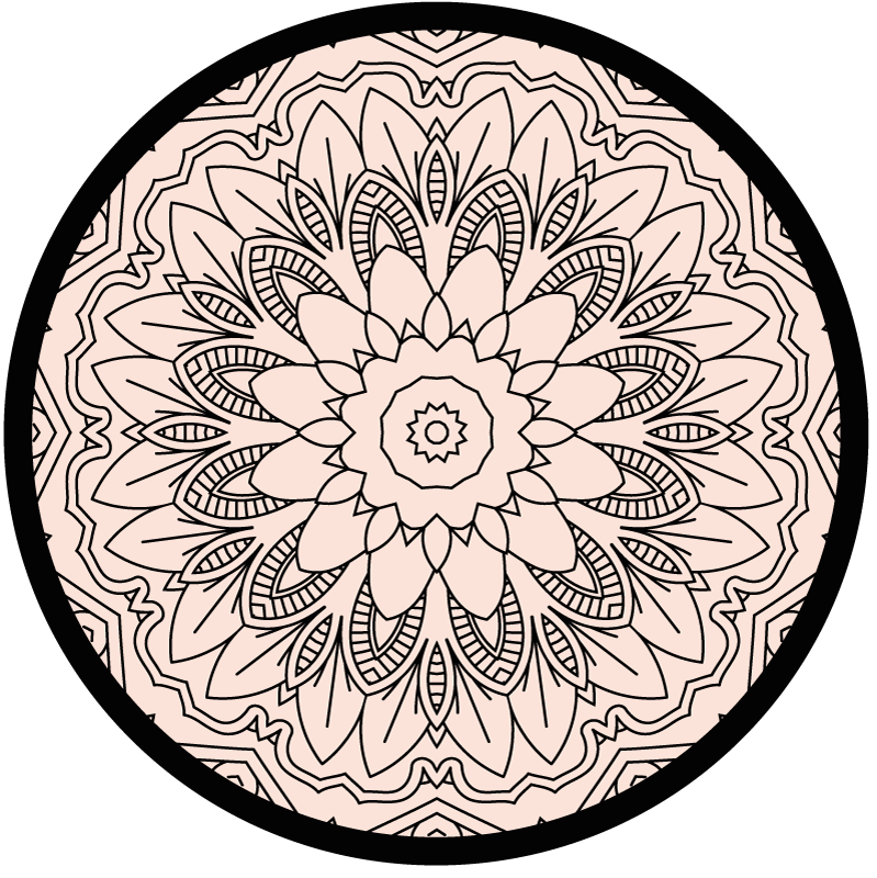 TenStickers. визуальный эффект круг ковер геометрические ковры. красивый и приятный визуальный эффект круглый коврик-ковер - отличное решение для кухни, потому что он очень практичный. купить сейчас.