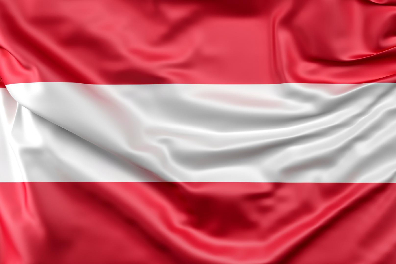 TenStickers. tapis vinyle ultra moderne Drapeau autrichien. Un incroyable tapis en sticker avec un design de drapeau pour décorer votre maison ou votre bureau. Tapis en sticker de haute qualité avec un design représentant le drapeau de l'autriche.