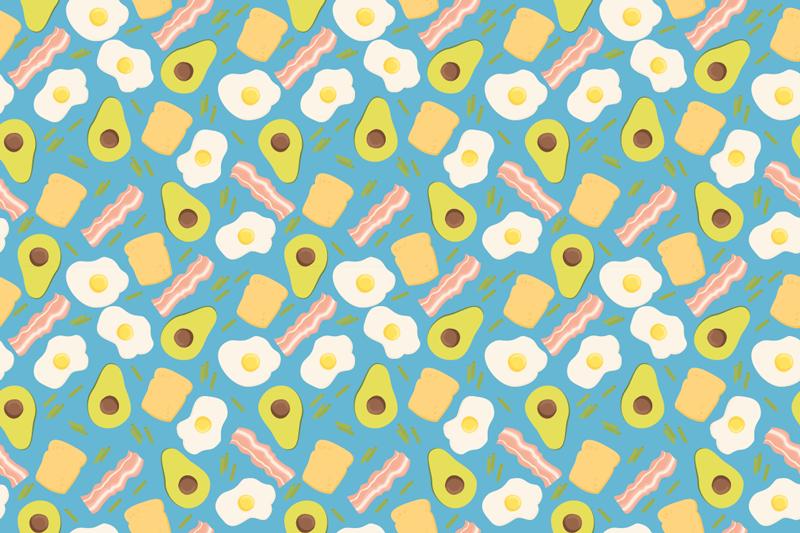 TenStickers. виниловые коврики кухонные авокадо и яйца современные коврики. Коврик для кухни - прекрасное решение для кухни или гостиной, потому что он очень практичный. его проект демонстрирует красивый дизайн в отличных цветах