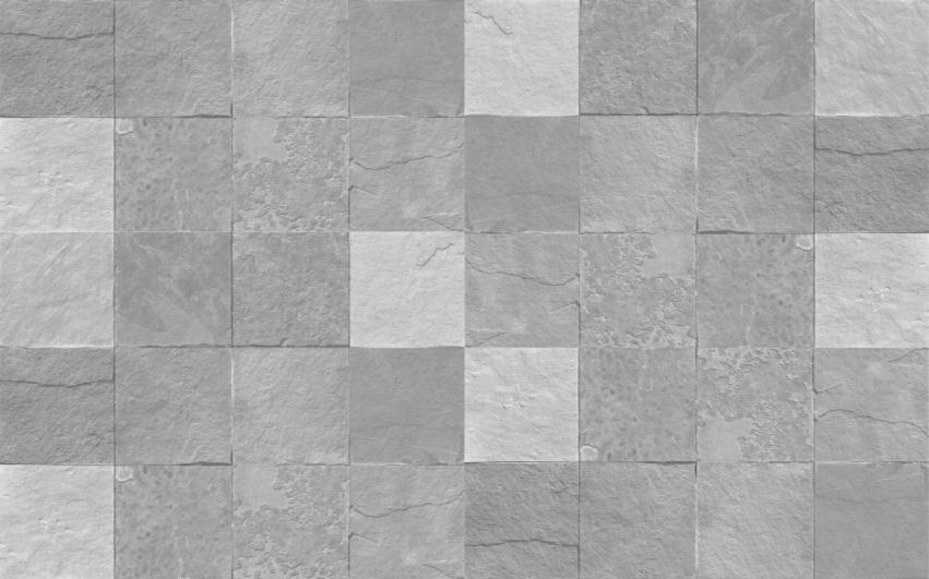TENSTICKERS. カーペットタイル石の床. リビングルームのステッカーに安価に取り付けることができる、素晴らしいビニールラグの超黒と白のタイルパターン。
