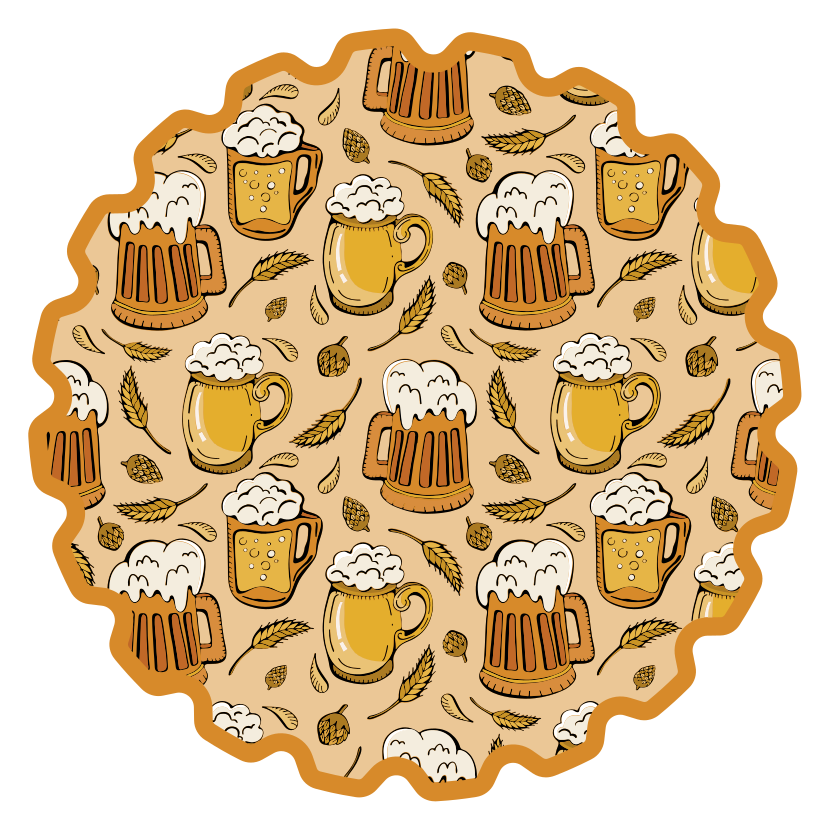 TenStickers. Beer contemporary rugs. Fantastic Vinyl rug super beer patterns, which can be mounted inexpensively in stickers for your living room. buy it now and be happy.