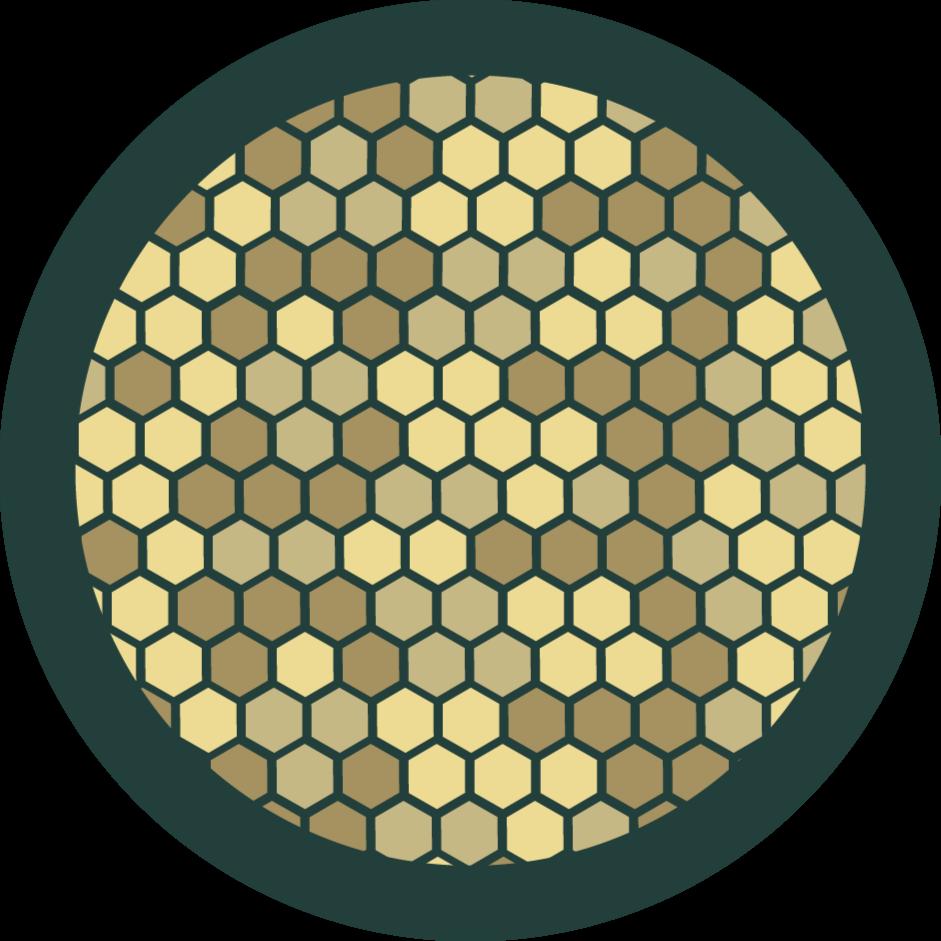 TenStickers. Желтые камни в зеленых бетонных современных коврах. красивый виниловый ковер с зелеными и желтыми геометрическими узорами. вам понравится этот ковер, где бы вы его ни разместили, и ауру, которую он добавляет в пространство.