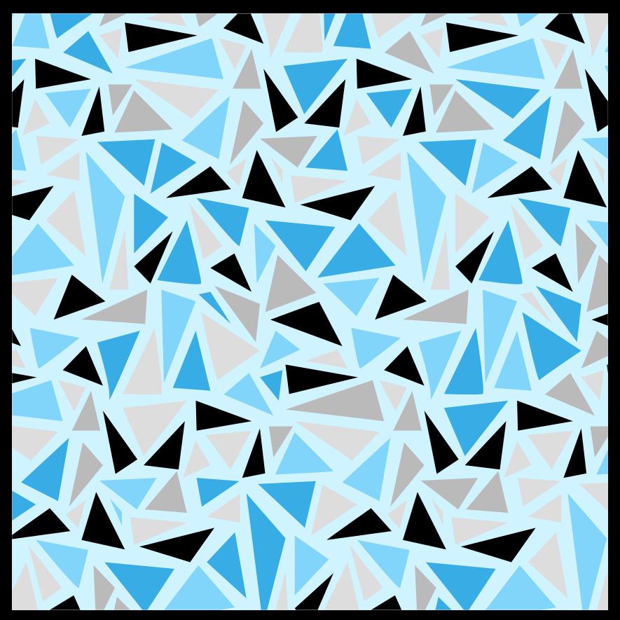 TenVinilo. Alfombra vinílica mosaico triángulos coloridos. Una original alfombra vinílica mosaico con un colorido diseño de triángulos. Fácil de mantener, duradero y disponible en tamaños.