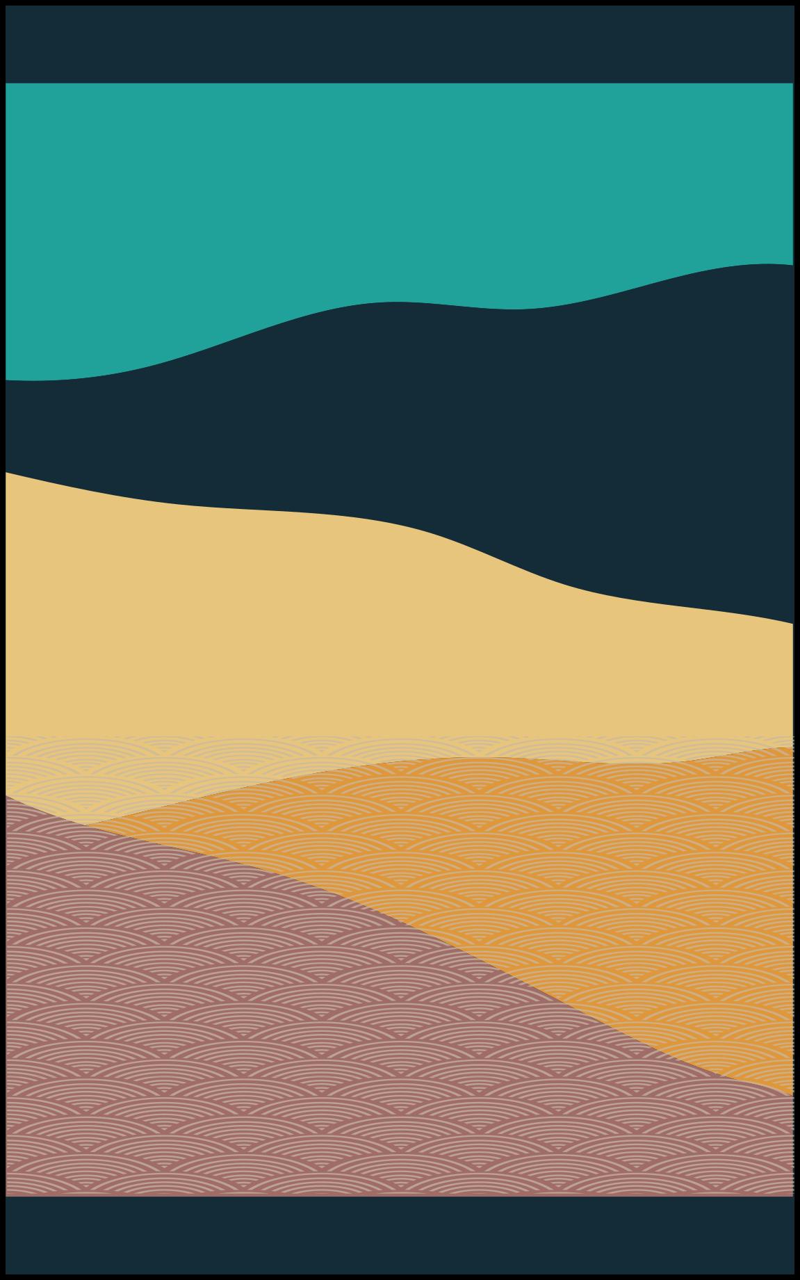 TenStickers. Tapetes de montanha contemporâneos abstratos. Tapete de vinil de montanha super abstrato em ótimo estado para a área de entrada e outros interiores de uma casa. Um tapete de vinil incrível que você compra.