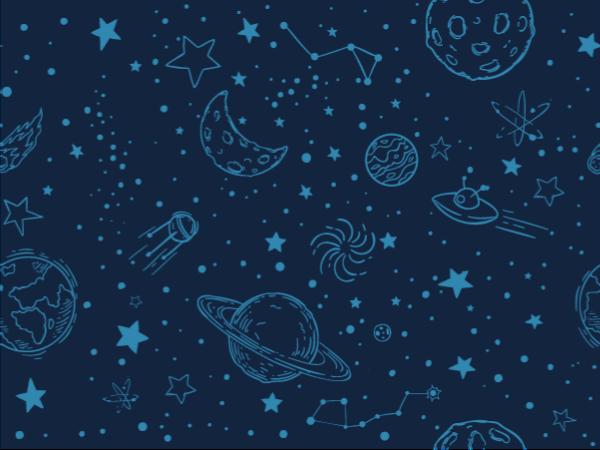 TenVinilo. Alfombra vinílica infantil azul con planetas. Fantástica alfombra vinílica infantil con planetas para decorar la habitación o la sala de juegos de tu hijo ¡Descuentos disponibles!