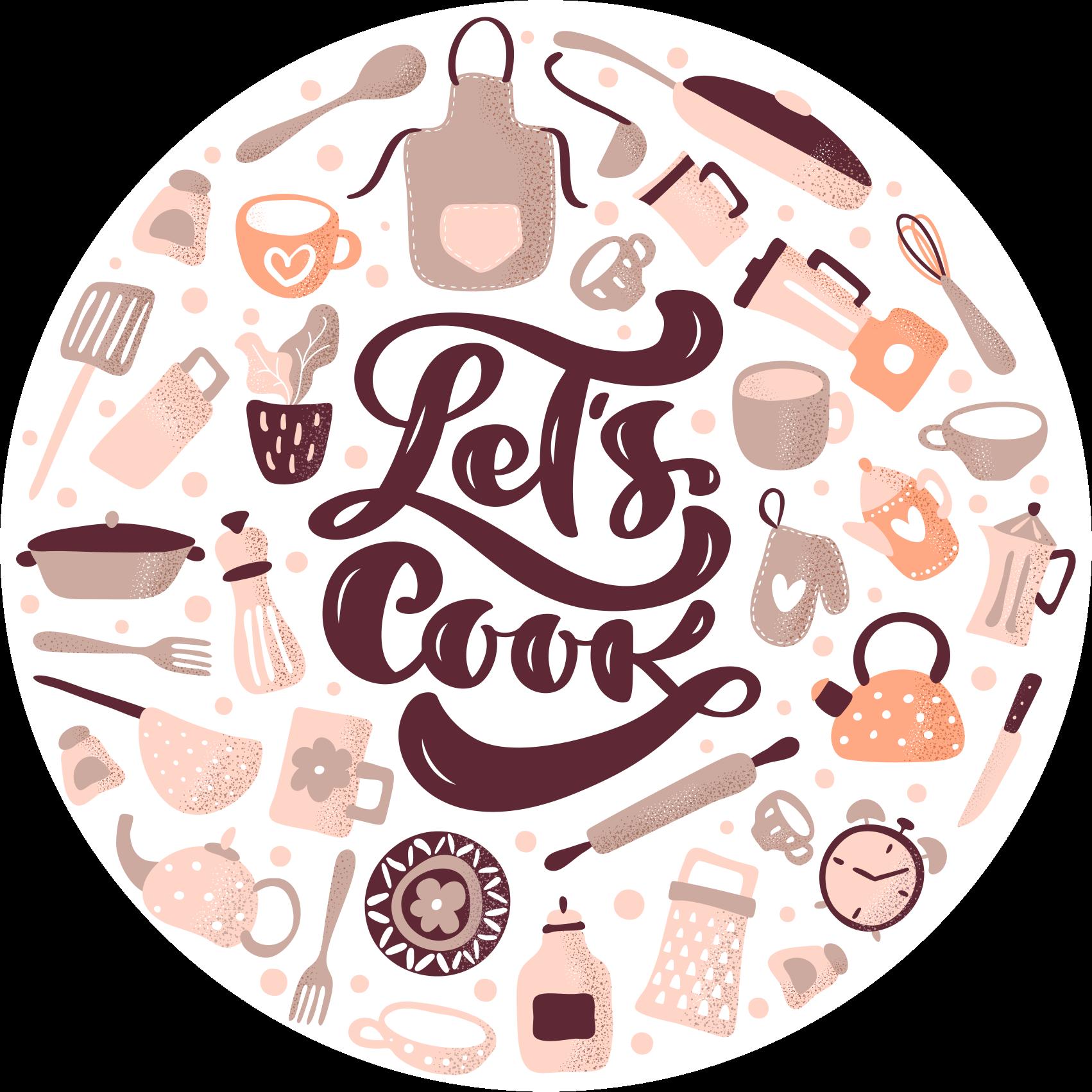 TenVinilo. Alfombra vinílica cocina beige frase cocinemos. Una alfombra vinílica cocina con el que conseguirás que el suelo de tu cocina sea único. Elige medidas ¡Descuentos disponibles!