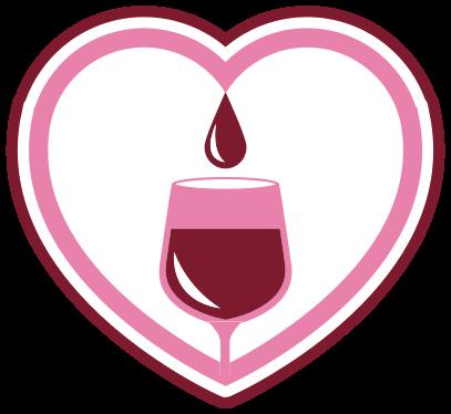 TenVinilo. Alfombra vinílica cocina corazón de vino. Alfombra vinílica cocina que presenta una copa llena de vino rodeada de un gran corazón. Materiales de calidad ¡Descuentos disponibles!