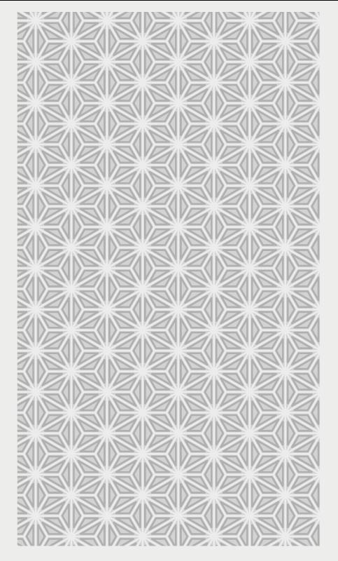 Tenstickers. Elegant grå geometrisk vinyl. Elegant grå og hvitt geometriske figurer vinylteppe i rektangulær form for å gi gulvet ditt det perfekte preget. Antiskli!